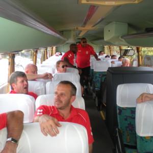 Liverpool FC, Durban, Bus Tour, bus rental, hire a bus