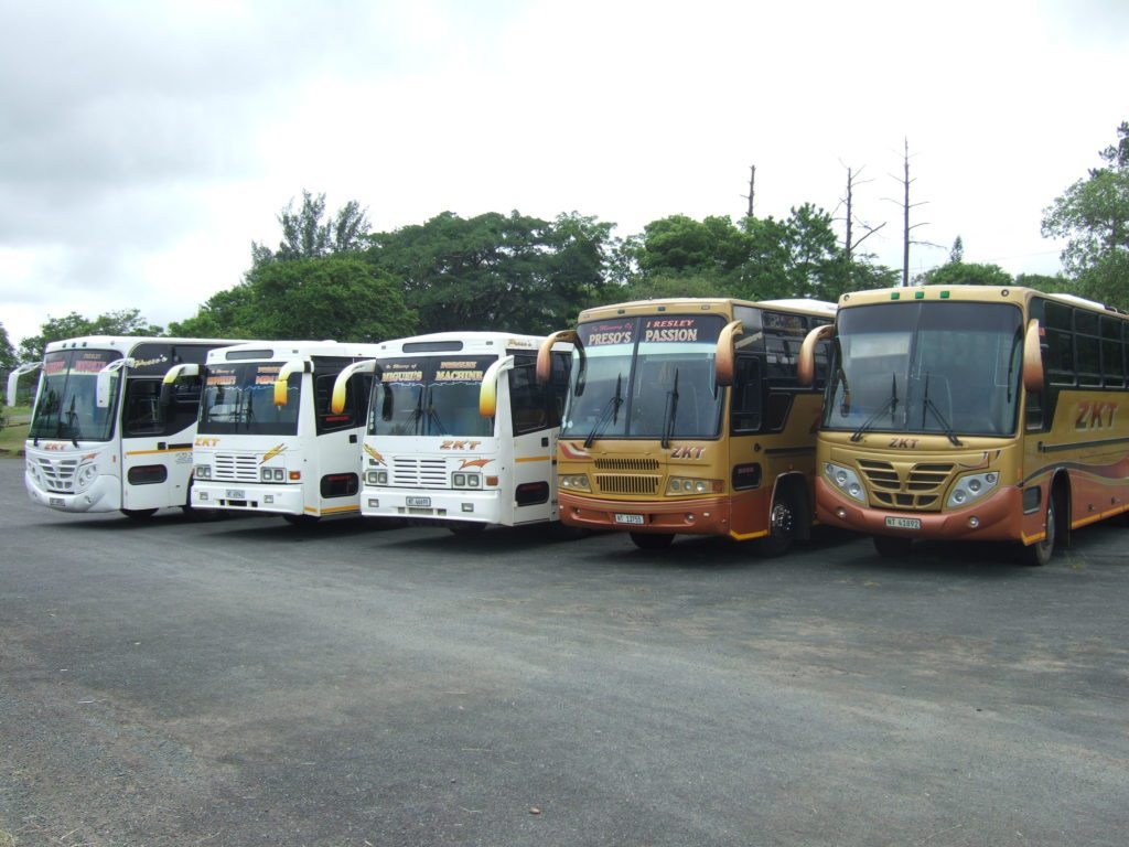 ZK Tours Buses